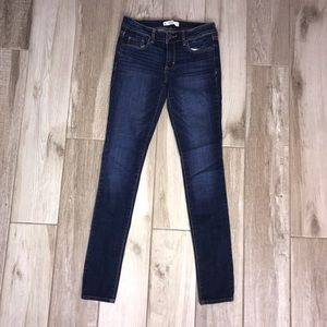 Dark Wash Abercrombie and Fitch Size 0R Jeans